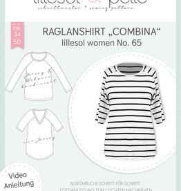 Raglanshirt vrouwen Combina No 65