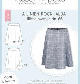 A-lijnrok vrouwen Alba No 66