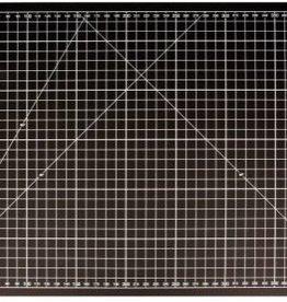 Snijmat 60x90cm zwart cm/inches
