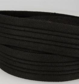 Tassenband doorstikt 38mm zwart col.014