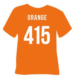 Poli Flex Flexfolie Orange  415  per 10cm