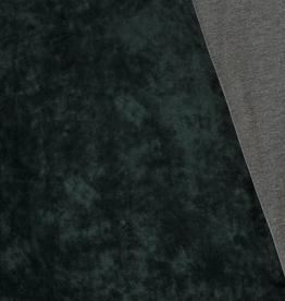 Double Face knitted Velvet groen