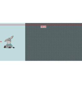 Hilco Paneel Little Donkey 55x145cm