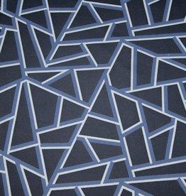 Hilco Big Pattern 11 Blue Geometric