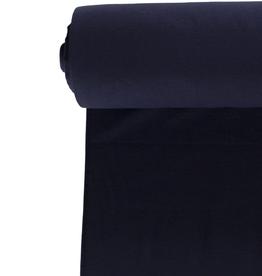 boordstof XL 140cm rondgebreid marine blauw