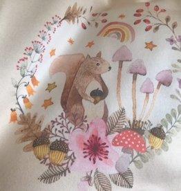 Hilco Paneel Autumn Song Eekhoorntje 55x145cm