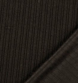 Breisel met fijne kabel zwart