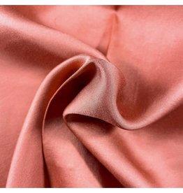 La Maison Victor Satijn perzikkleur - LMV ELISE blouse