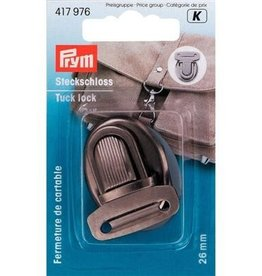 Prym Prym - TT-slot boekentas 26mm oudzilver - 417 976