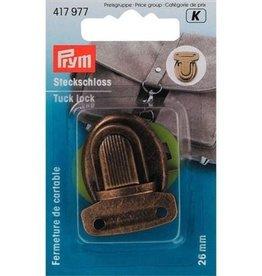 Prym Prym - TT-slot boekentas 26mm oudmessing - 417 977