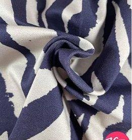 La Maison Victor French terry zebraprint paars - LMV