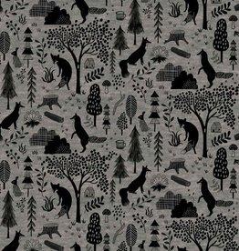 Katia Fabrics Sweat melange Forest grey
