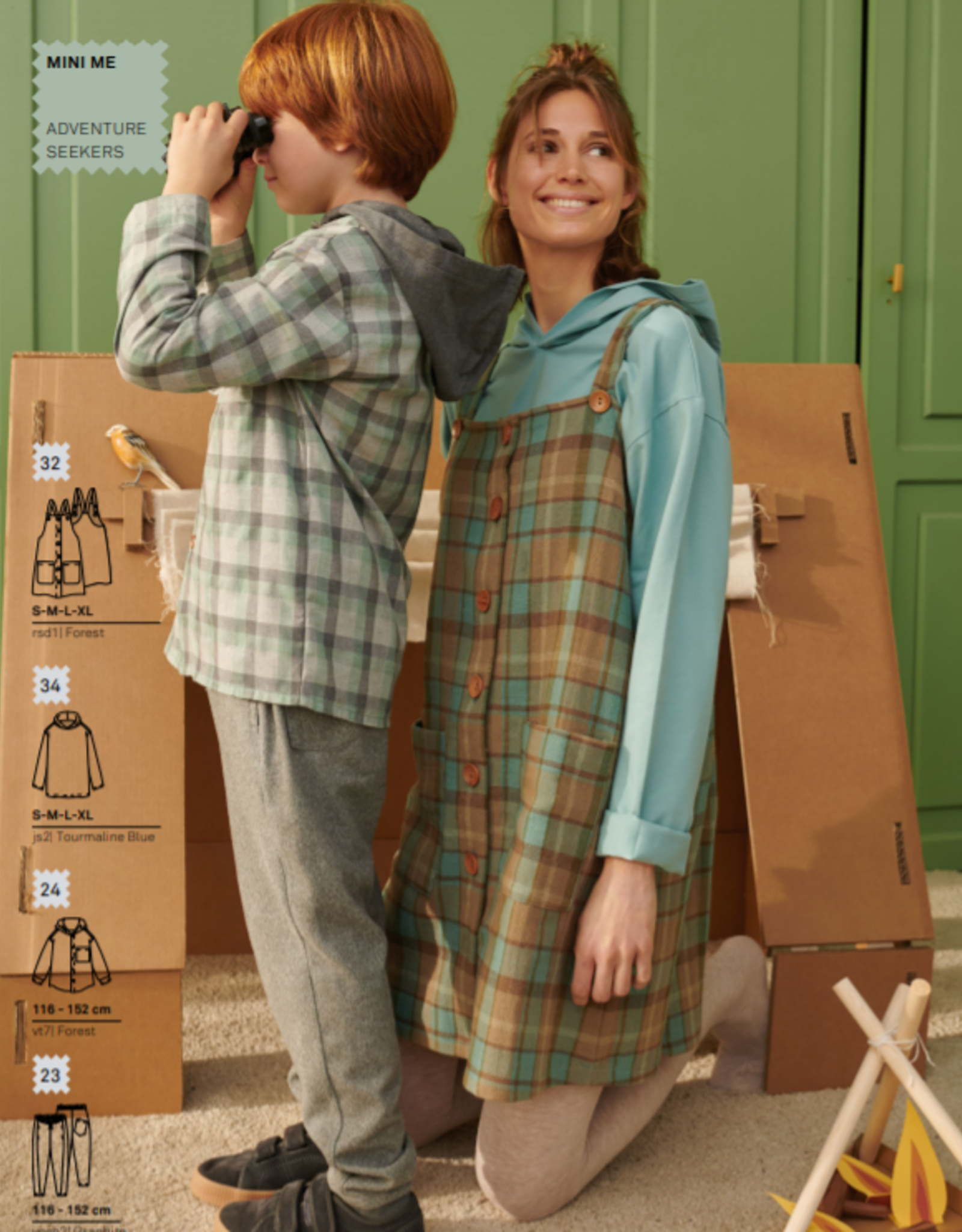 Katia Fabrics mini ME - naaimagazine herfst/winter 21/22