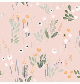Katia Fabrics Ecovero Detective Flowers
