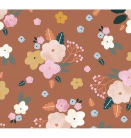 Katia Fabrics Ecovero Best Friends Flowers