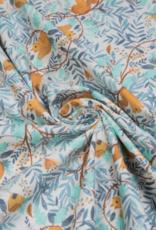 Katia Fabrics Poplin Squirrel World