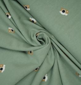 Katia Fabrics Rustic cotton Adventure Kaki