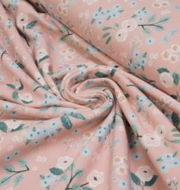 Katia Fabrics Sweat Cow Flowers pink