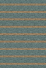 French terry brushed digital stripes green