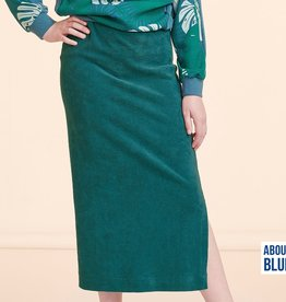 About Blue Fabrics Never Grow Up - Terry Cloth UNI 8 Blue Spruce (Sponge)