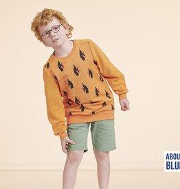 About Blue Fabrics Never Grow Up - PENGUINS BEDTIME