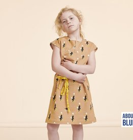 About Blue Fabrics Never Grow Up - ZOO ON WHEELS indian tan