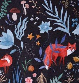 Katia Fabrics Poplin Dark Forest