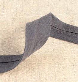 double gauze 27mm op rol  grijs