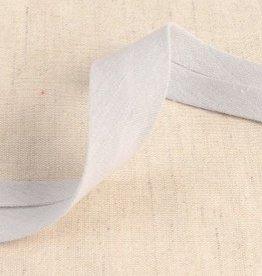double gauze 27mm op rol licht grijs