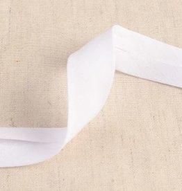 double gauze 27mm op rol wit