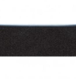 Lingerie elastiek 15mm glanzend zwart