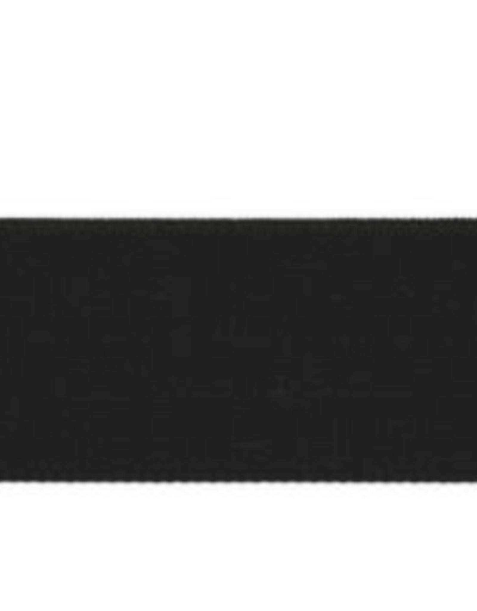 elastiek 25mm zwart