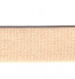 Lingerie elastiek 15mm glanzend huidskleur