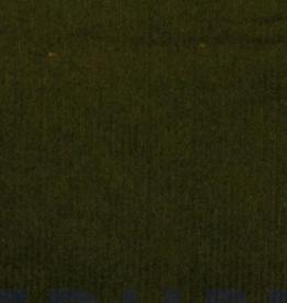 Corduroy met lichte stretch 8W kaki green