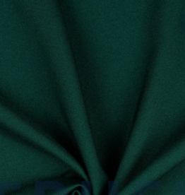 Poppy Marocain stretch crepe dennengroen