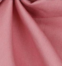Uni katoen Blush Roze