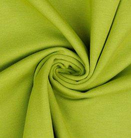 Uni tricot Gots lime limoengroen