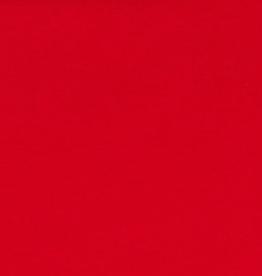Tube boordstof GOTS 35cm rood