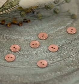 See You At Six Button - 10 - Metal - Texture - Rosé Copper - R