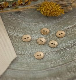 See You At Six Button - 11 - Metal - Texture - Soft Gold - R