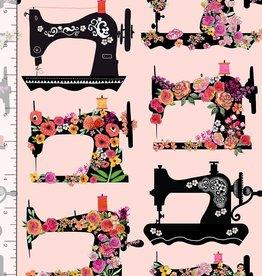 Gail Sewingmachines pink