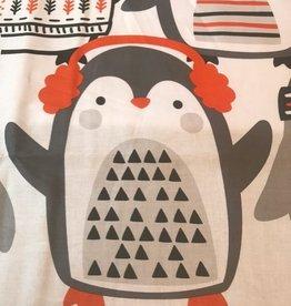 Paneel Pinguin Paradise 90x110cm