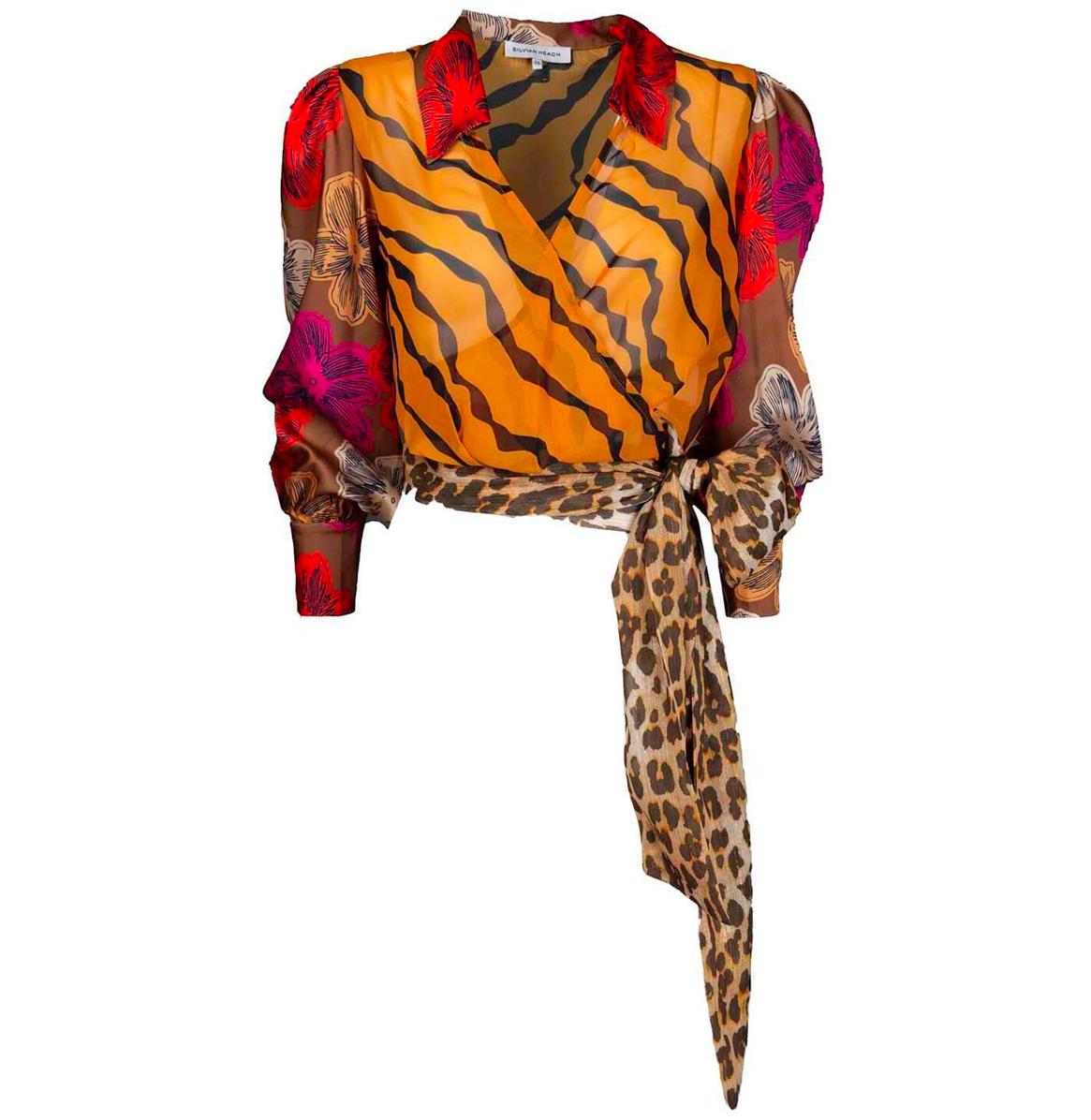 Silvian Heach Print blouse Silvian Heach