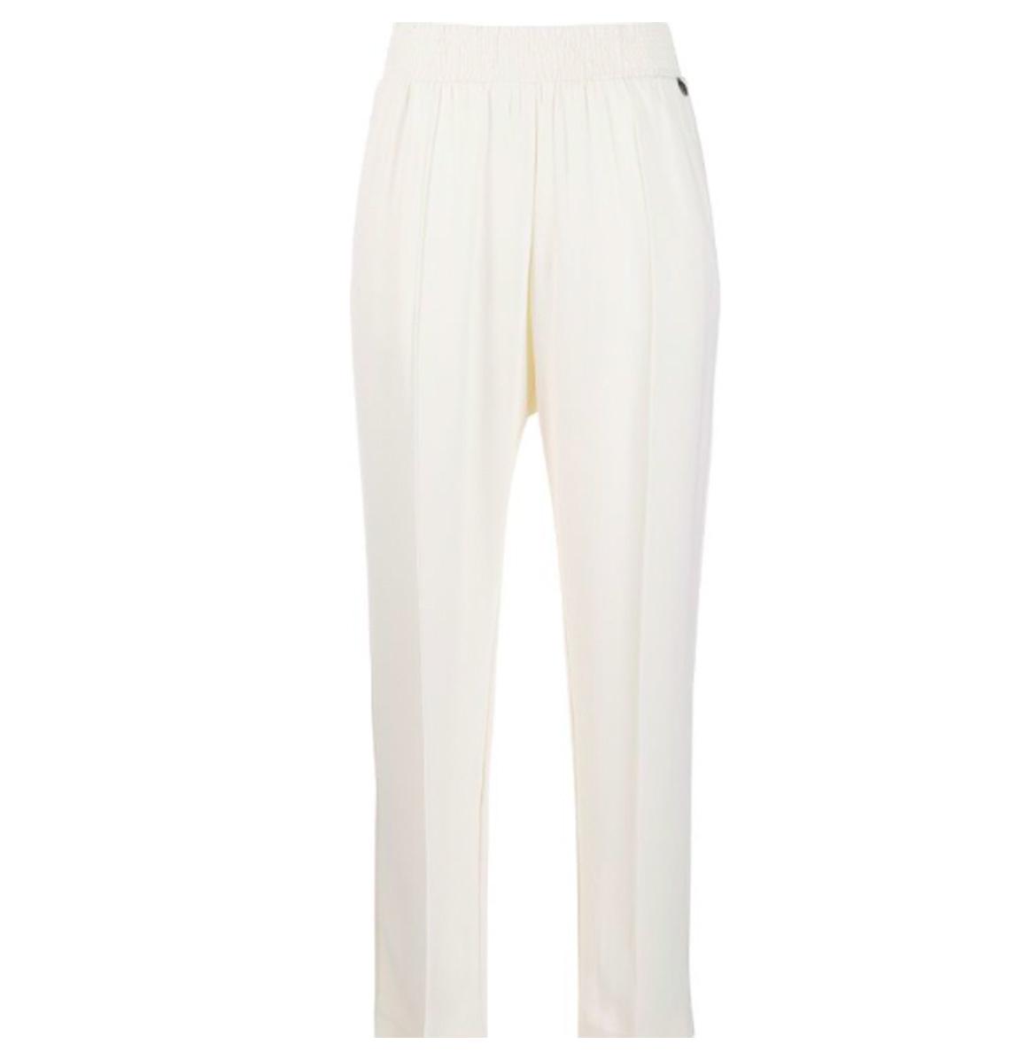 Twin-Set Pantalon creme Twinset