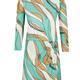 Elisabetta Franchi Short dress with foulard print tiffany Elisabetta Franchi