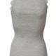 Rosemunde S/S Silk top Regular vintage lace light grey Rosemunde