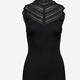 Rosemunde A/W Silk Top Regular wide lace black Rosemunde