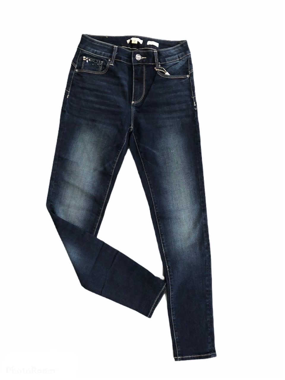 Fracomina A/W Jeans Pants Dark Blue Fracomina