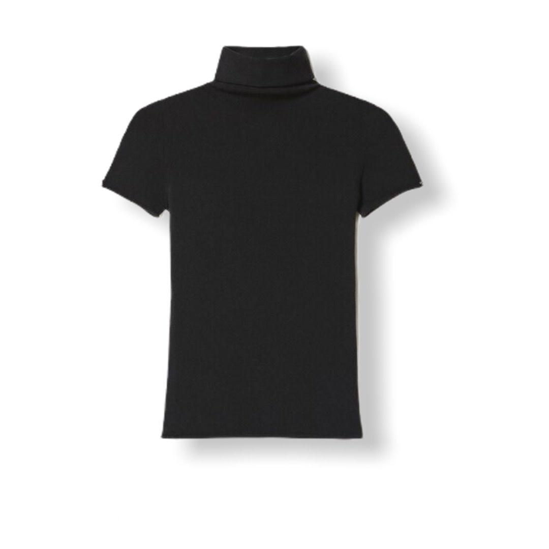 Twin-Set A/W Lupetto Nero T-shirt Twin-Set