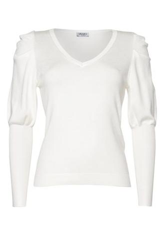 Liu.Jo A/W Sweater Maglia Chiusa bianco Liu.Jo